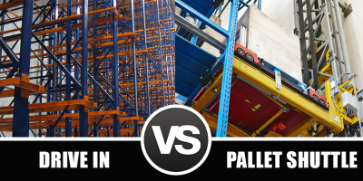 Pallet Shuttle vs Drive-In