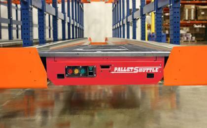 Pallet Shuttle Website SPalsh