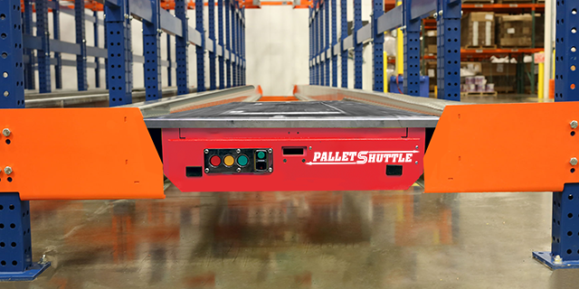 Pallet Shuttle Racking System In CA